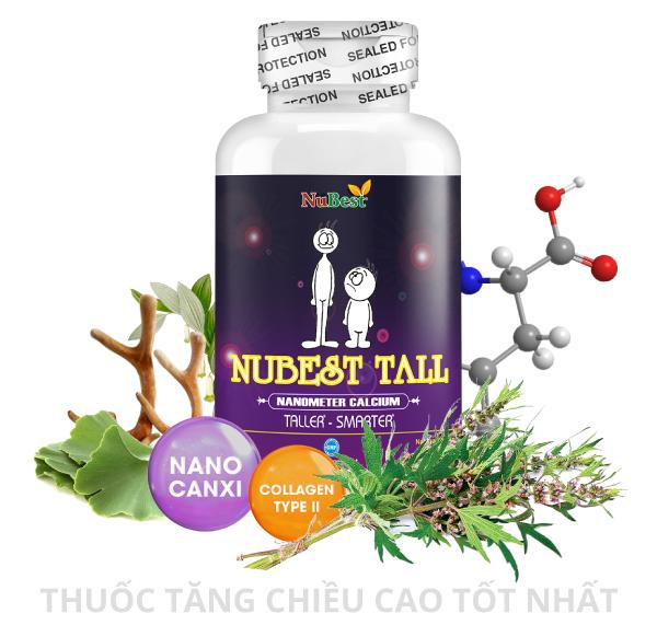 Thuốc tăng chiều cao NuBest Tall kết hợp tinh hoa của 2 nền y học phương Đông và Phương Tây